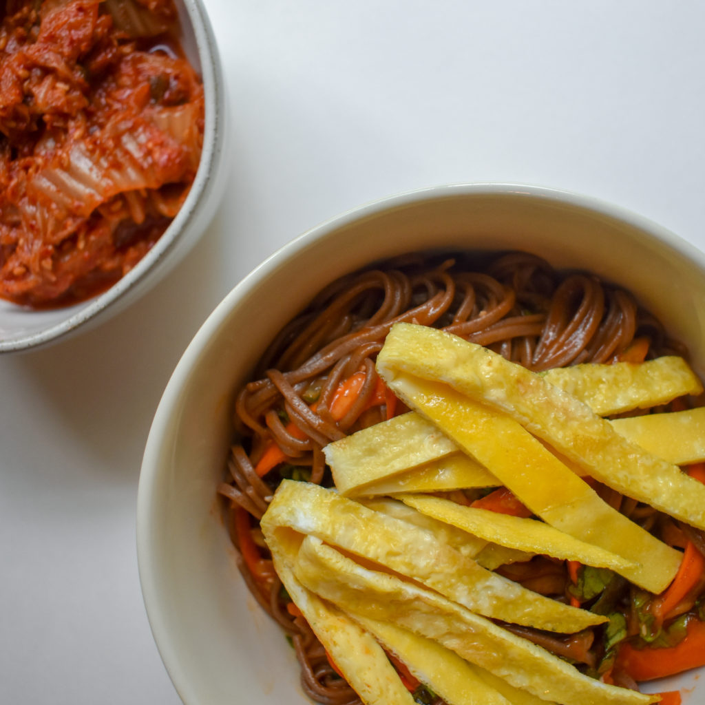 Korean Noodle Bowl