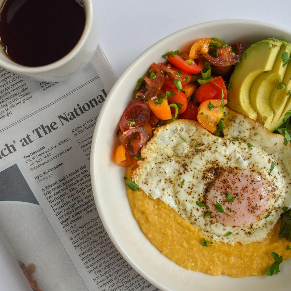Savory Summer Breakfast Bowl