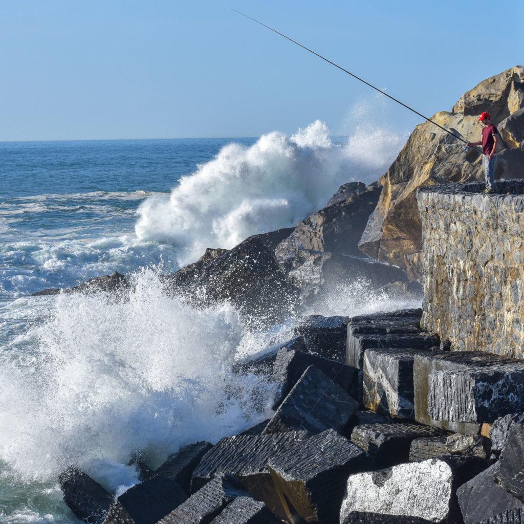 Man Fishing in Spain- Nice Weekend