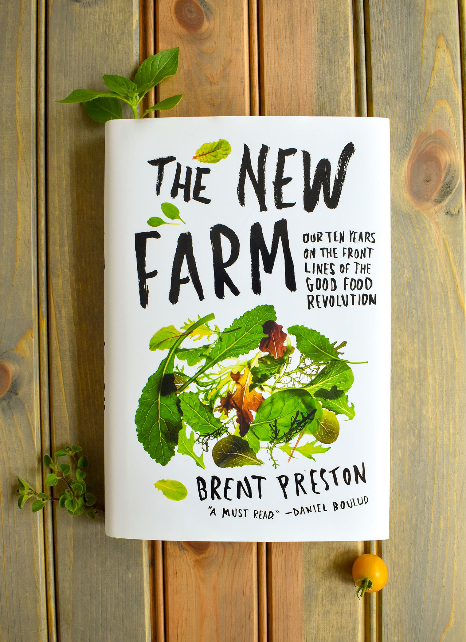 A book review of The New Farm by Brent Preston