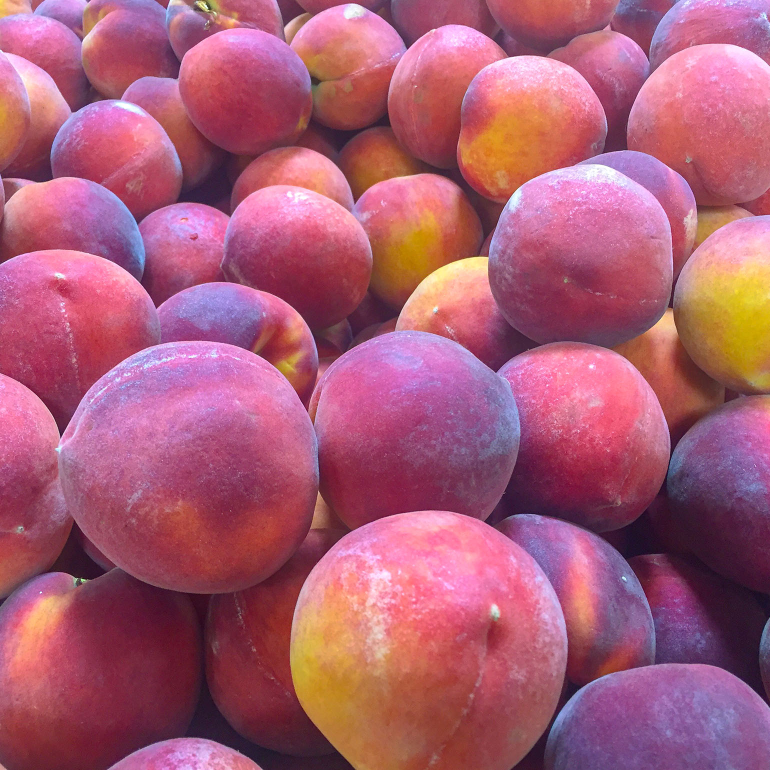 Seasonal Peaches for Peach Cobbler