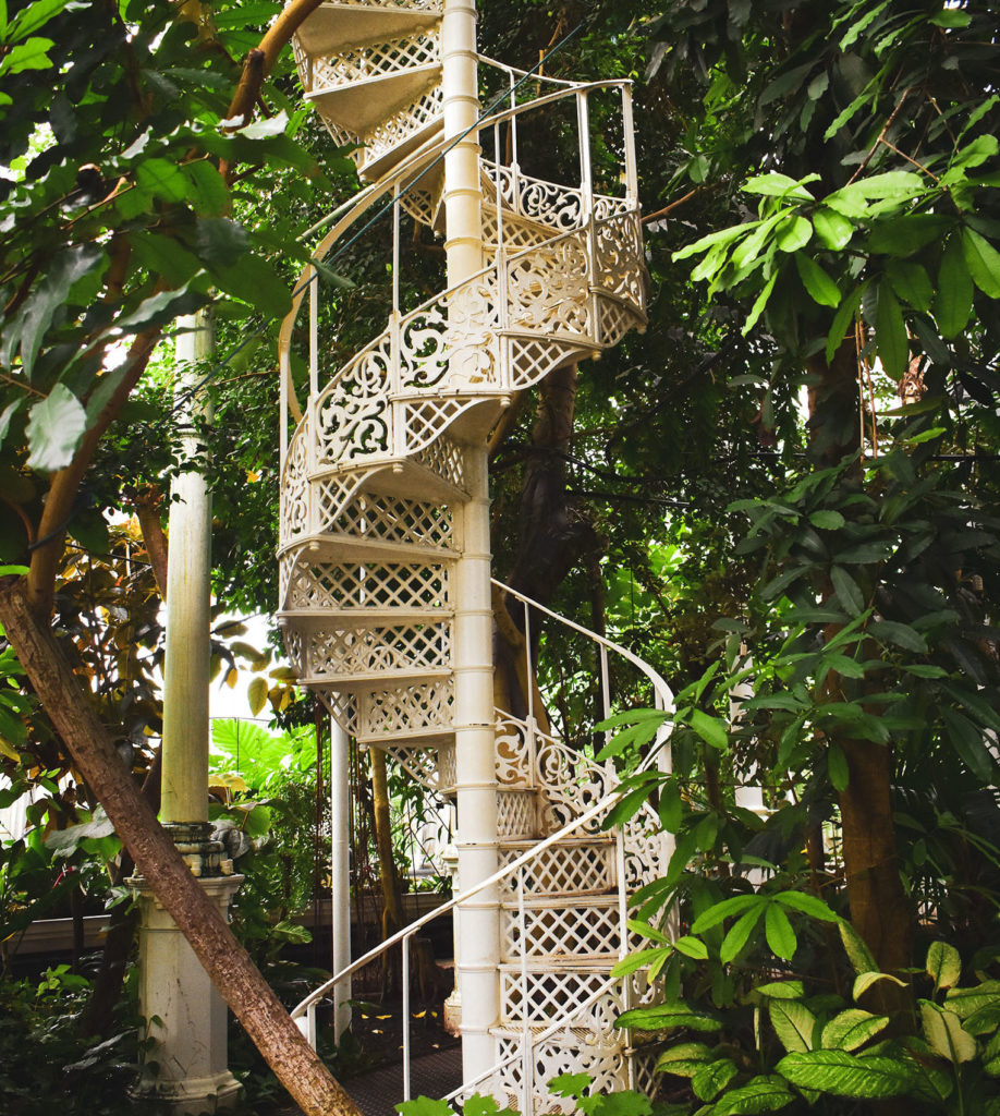 Staircase in Palm house Copenhagen- Excellent Weekend