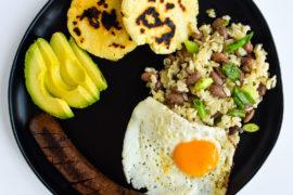 Colombian Recalentado Breakfast