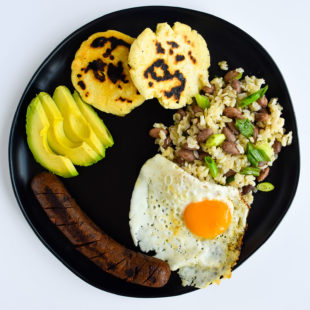 Colombian Recalentado Breakfast
