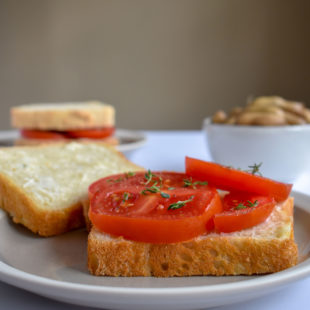 Tomato and Mayo Sandwiches