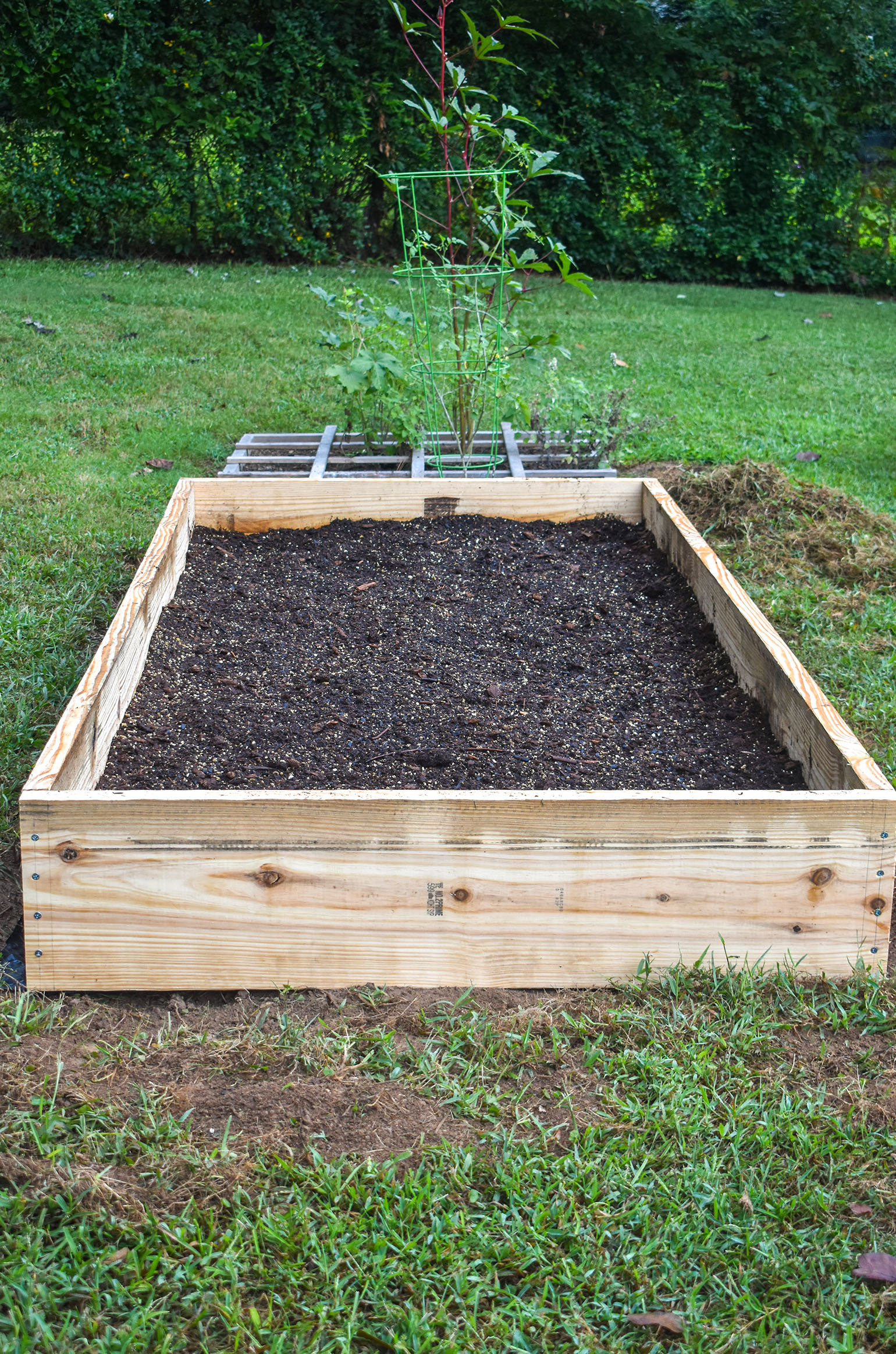 Planting a Fall Garden- Raised Garden Bed
