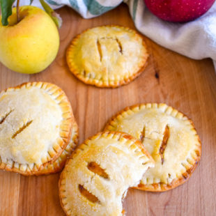 Baked apple cheddar hand pies