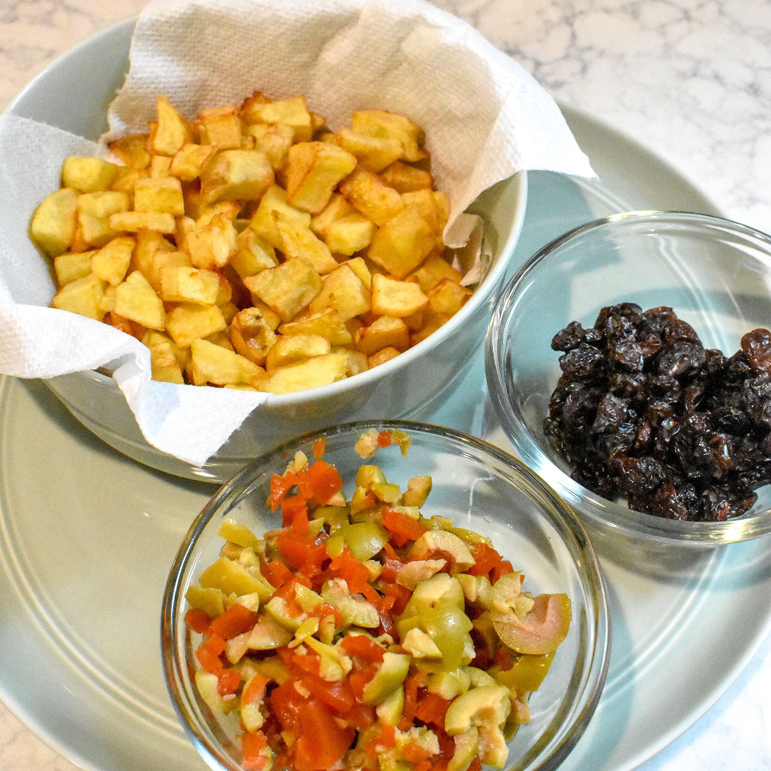 Easy Cuban Picadillo Ingredients
